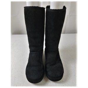 Womens UGG Classic Tall Black Boots Sz 7